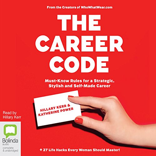 The Career Code audiobook cover art