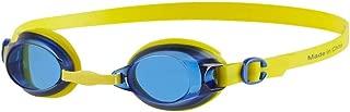 Speedo Jet Junior Goggles (Empire Yellow/Neon Blue, One Size)