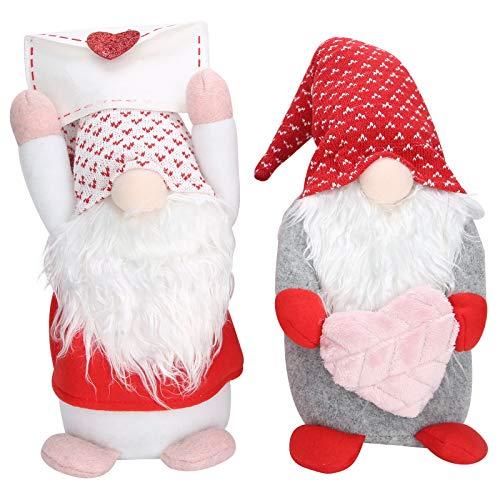 Muñeca enana sin rostro Adornos de escritorio Día de San Valentín Cumpleaños Aniversario Regalos Figura coleccionable Regalo para niñas
