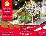 Wilton W46832 Unassembled Gingerbread House Kit, Petite