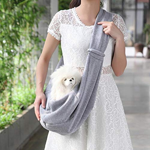 IUOU Perrito Puppy Carrier Bag Cats Puppy Outdoor Viaje Perro Bolso Hombro Algodón Comfort Sling Bolso Bolso Tote Bolsa