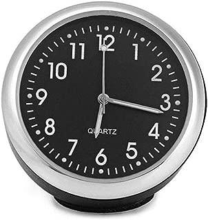 lzndeal Car Quartz Clock,Universal Waterproof,High Accuracy,Mini,Black,1 Pcs Luminous Auto Car Quartz Clock Car Dashboard Clock Table Onboard Black Clocks