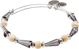 Alex and Ani Cirrus Seeds of Promise Beaded Bangle Rafaelian Silver Finish Bracelet, A15EB30RS