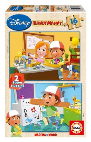 Educa Borrás Super Puzzles Disney - Juego 2X16 Manny Manitas 14359
