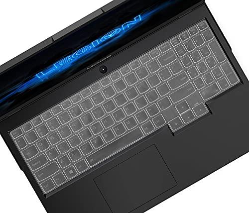 Tastaturschutz für Lenovo Legion 5 15.6 und 17.3 Gaming Laptop, Legion 7i und Legion 5i, IdeaPad Gaming 3 und 3i 15 und Legion Slim 7i 15 Laptop, Lenovo Legion 5 Gaming Laptop Tastaturschutz – Transparent