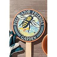 Pollinator Friendly Bee - Garden Sign