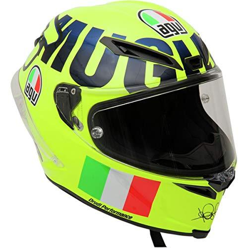 AGV Unisex-Adult Full Face Helmet (Yellow, Large)