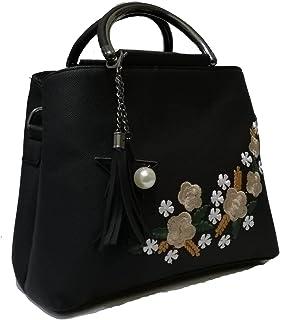 حقيبة للنساء-اسود - حقائب بمقبض علوي