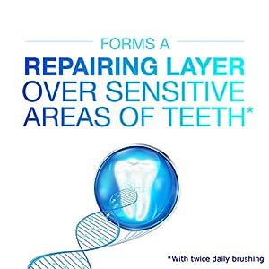 Sensodyne Repair & Protect Teeth Whitening Sensitive Toothpaste, Cavity Prevention and Sensitive Teeth Treatment - 3.4 Ounces