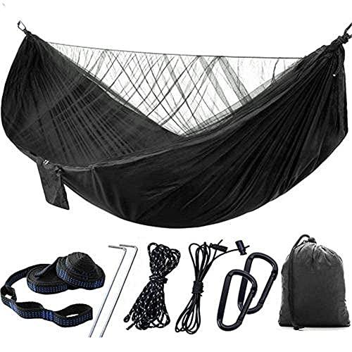 Hamaca ultraligera para acampar al aire libre, mosquitero de apertura rápida para colgar en la selva, dormir, viajes, D