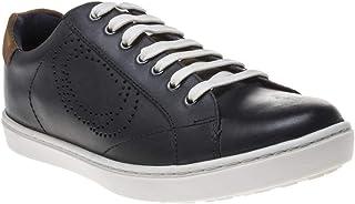 Base London Wafer Waxy Uomo Sneaker Blu