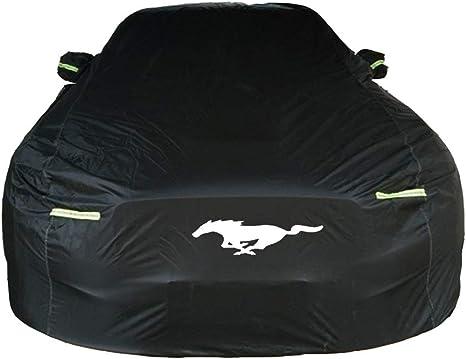 Kompatibel Mit Ford Mustang Dedicated Car Cover Sunscreen Schnee Regenfest Kratz Four Seasons Universal Car Cover Size Ford Mustang Küche Haushalt