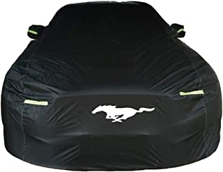 Protective Shields Compatible With Ford Mustang Dedicated Car Cover Sunscreen Snowproof Rainproof Scratchproof Four Seasons Universal Car Cover (Size : Ford Mustang)