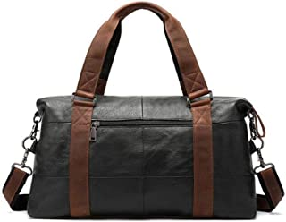 Mens Bag Large-capacity Mobile Travel Bag Simple Shoulder Bag The First Layer Of Leather Men's Bag High capacity