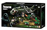 Predator VS Alien Movie Armored Car Helicopter 468Pcs Building Block Toy Set (B0719A(Without Original Box))