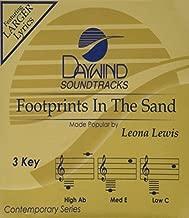 Footprints [Accompaniment/Performance Track] by Leona Lewis (2008-11-01)