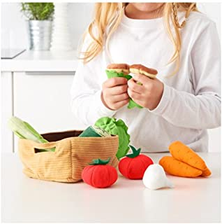 Vegetables kit with 14 pieces, multicolored from DUKTIG