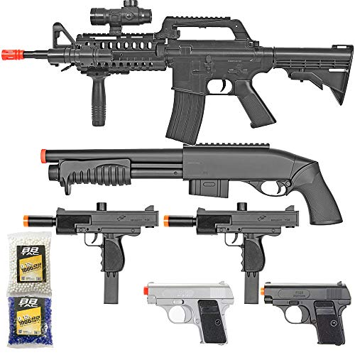 BBTac Airsoft Gun Package - Black Ops - Collection of...