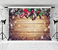 ケイト クリスマス 写真 背景 白 雪 木製 板板 写真 背景 カスタマイズ写真スタジオ背景