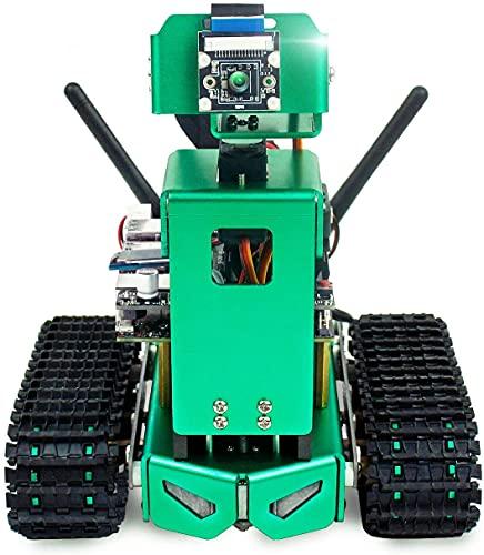 Yahboom AI スマートロボットキットNVIDIA Jetson Nano 用。顔認識、自動運転、カラー認識、落下防止、自動障害物回避、オブジェクトトラッキング(NVIDIA Jetson Nano 含む)(Lift Version)