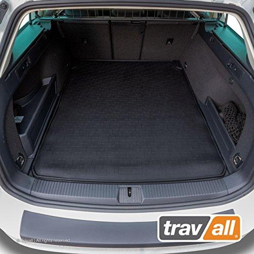 Travall CargoMat Liner Kofferraumwanne Kompatibel Mit Volkswagen Passat Variant (Ab 2014) Alltrack (Ab 2015) TBM1124 - Maßgeschneiderte Gepäckraumeinlage mit Anti-Rutsch-Beschichtung