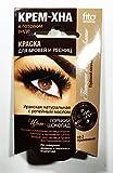 Henna Creme für Augenbrauen und Wimpern Farbe bitterschokolade, 2 x 2 ml Краска для...