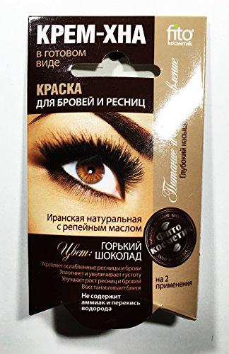 Fito Kosmetik Fito Kosmetik Henné Crème pour Sourcils/Cils Couleur Chocolat 2 x 2 ml