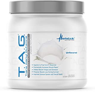 Sponsored Ad - Metabolic Nutrition | T.A.G. (Trans Alanyl Glutamine) | 100% L-Glutamine Peptide Powder | Pre, Intra, Post ...
