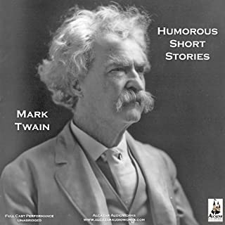 The Humorous Short Stories of Mark Twain audiobook cover art