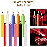 Zoom IMG-2 muoivg candele 100 colori assortiti
