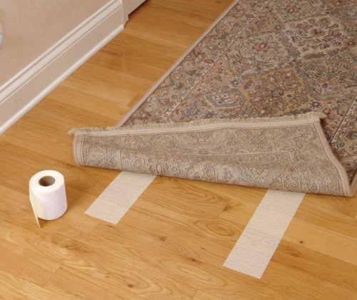 Optimum Technologies Lok Lift Rug Gripper for Large Rugs, 6-Inch by 25-Feet -