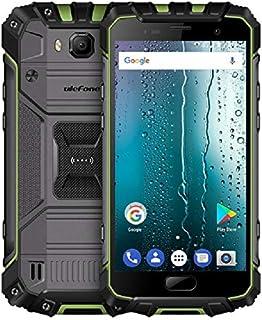 Ulefone Armor 2 Rugged phone, 6GB+64GB, IP68 مقاوم للماء والغبار والصدمات ، التعرف على بصمات الأصابع ، 5 بوصة Android 7.0 ...