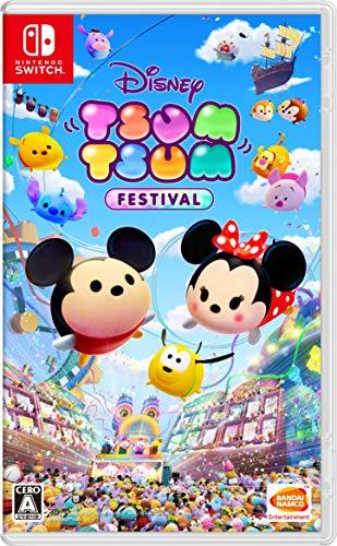 BANDAI NAMCO DISNEY TSUM TSUM FESTIVAL FOR NINTENDO SWITCH REGION FREE JAPANESE VERSION [video game]