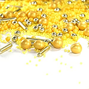 mySprinkles - Azucarero (90 g), color dorado