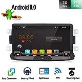 Android 9.0 Autoradio stéréo pour Renault Duster/Dacia Sandero/Lada Xray 2/Renault Captur/Logan 2 |2 DIN 8 Inch 2G+32G Octa Core| Voiture GPS Navigation Head Unit Caméra & Canbus arrière GRATUITES