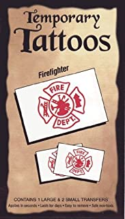 Firefighter tattoo transfers