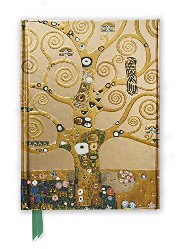 Premium Notizbuch DIN A5: Gustav Klimt, Lebensbaum: Unser hochwertiges, liniertes Blankbook mit festem, künstlerisch geprägtem Einband und ... DIN A 5 mit Magnetverschluss, Band 39)