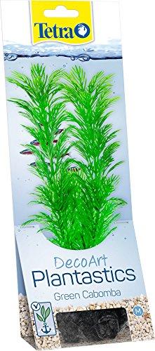 Tetra DecoArt künstliche Wasser-Pflanzen für das Aquarium, naturgetreue Nachbildung, Green Cabomba