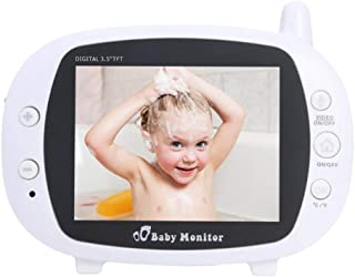 Baby Monitor with Camera and Audio 3.5-inch High-Definition Night Vision 2.4G Wireless Signal Transmission Barrier-Free Tr...
