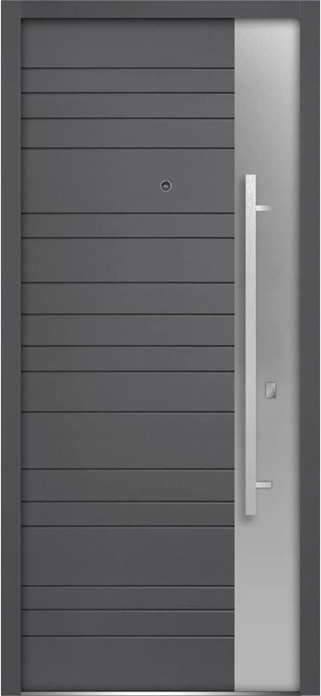 Front Exterior Prehung Steel Door 36 Left-Hand service x inches Inswi 80 Max 75% OFF