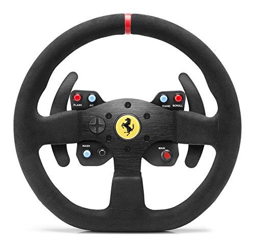 Thrustmaster Ferrari Race Kit with Alcantara (Lenkrad AddOn 30 cm Alcantara Gaming-Headset 50mm Treiberabn. Richtmikrofon Memoryschaum m. Gelkissen PS4 / Xbox One / PC)