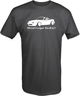 Mazda Miata Street Legal Go Kart Racing T Shirt
