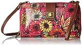 Sakroots womens Large Smartphone Crossbody cross body handbags, Raspberry in Bloom, One Size US