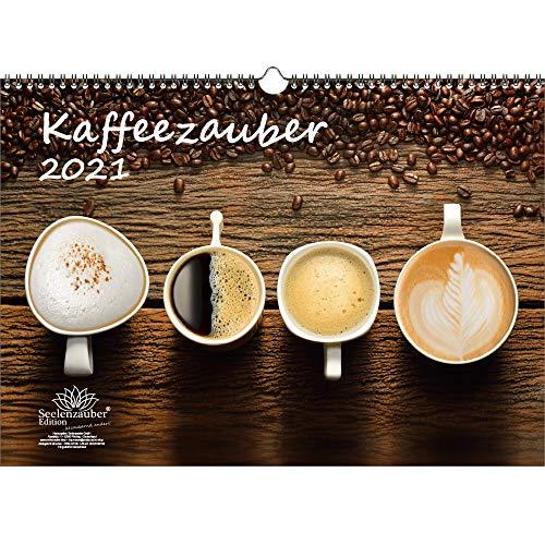 Kaffeezauber DIN A3 Kalender für 2021 Kaffee - Seelenzauber