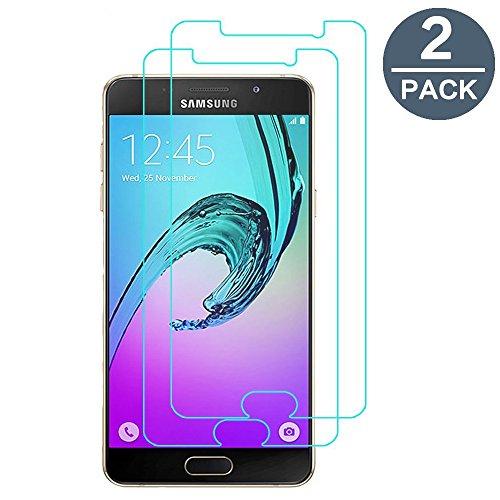 Vetro Temperato Samsung Galaxy A5 2016, [2-PACK] Y-ouni 9H Durezza Ultra Resistente - Ultra Sottile 0,3 mm, Pellicola Vetro Temperato Samsung Galaxy A5 2016
