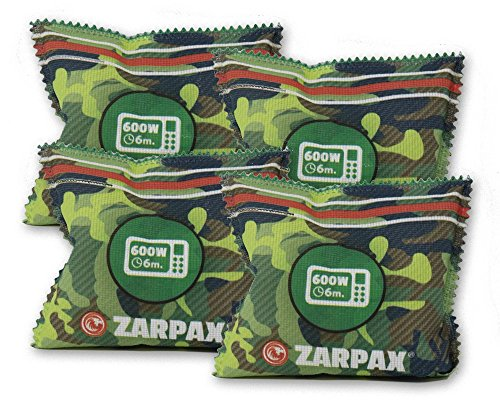 Zarpax Reusable Outdoor Gear and Gun Safe Dehumidifier, 4-Pack