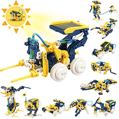 CIRO STEM Projects 11in1 Solar Robot Toys Education Science Experiment Kits for Kids Ages 812 231 Pieces Building Set for Boys Girls