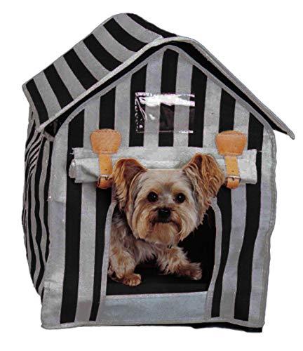 artra design GmbH hondenmand dierbed Cabina MIAU grijs-zwart