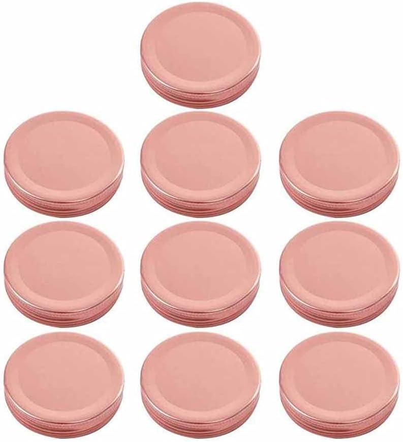 HAHFKJ 10Pcs Max 46% OFF Mason Jar Lids Co 70mm Mouth Regular Max 50% OFF