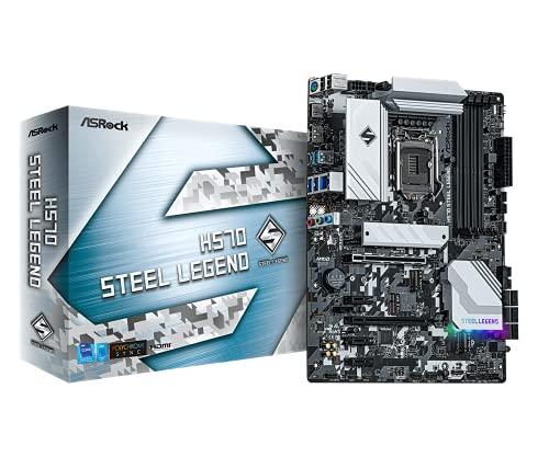 ASRock Intel 第10・11世代CPU(LGA1200)対応 H570 チップセット搭載 ATX マザーボード 【国内正規代理店品】 H570 Steel Legend